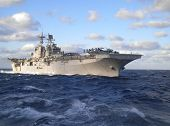 stock photo of iwo  - USS Iwo Jima LHD - JPG