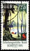 Post Stamp Devoted To Forest Protection