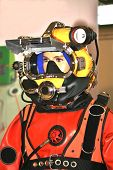 Helmet Of Diver