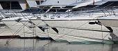Yachts At Anchor