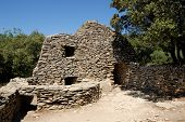 Borie - Medieval Stone Hut poster