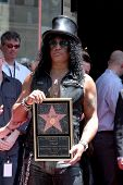 LOS ANGELES - JUL 9:  Slash at the Hollywood Walk of Fame Ceremony for Slash at Hard Rock Cafe at Ho