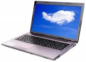 Laptop With Sky Wallpapers