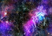 deep or outer space