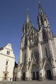 Saint Wenceslas Cathedral In Olomouc( Czech Republic. )
