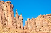 Sandstone cliffs in Utah