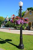 Lamppost On Mackinac Island