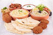 sortidas de comida oriental, mezze