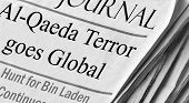 image of terrorism  - Headlines in an unknown JOURNAL state  - JPG