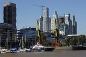 stock photo of calatrava  - Puerto Madero - JPG