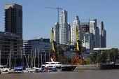 stock photo of calatrava  - Puerto Madero - JPG