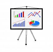 Flip Chart With Charts