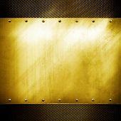 placa de oro