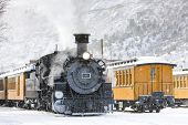 Durango e Silverton Narrow Gauge Railroad, Colorado, EUA