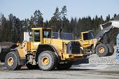 stock photo of jcb  - giant trucks - JPG