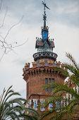 Castell dels tres Dragons (zoological museum) in Parc de la Ciutadella, Barcelona