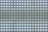 Foto de ladrillo de cristal (textura)
