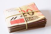 foto of brazilian money  - Photo of Brazilian money  - JPG