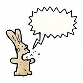 burping rabbit cartoon