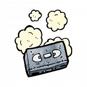 old video cassette cartoon