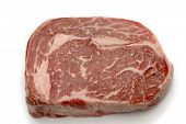 stock photo of wagyu  - Ribeye steak from Australian Wagyu cattle - JPG