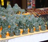 Jade Figurines Buddhas