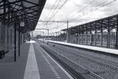 Railway Station (Monochrome)