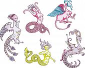 Sirens, Harpies And Mermaids