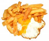 Fried Egg And Chips