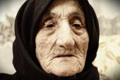 Elderly Woman Face