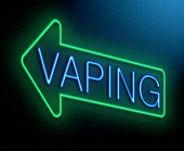 Vaping Concept.