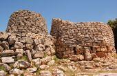Nuragic Costruction In Sardinia