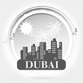 stamp Dubai