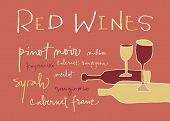 Red wines varieties