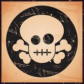 vector skull icon