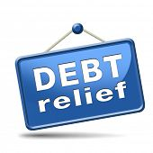 debt relief after banruptcy caused by credit or housing bubbles restructuring finance after economic