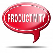 productivity industrial or business productive time management production costs maximizing output ra
