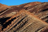 stock photo of atlas  - Atlas Mountain landscapes in Morocco - JPG