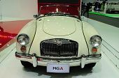 Bkk - Nov 28: Mg A, Classic Designed Car, On Display At Thailand International Motor Expo 2013 On No