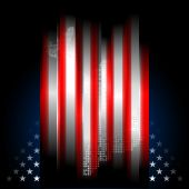 Stars And Stripes American Flag, Illustration