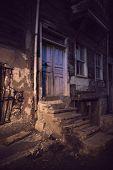 Dark Alley In Spooky Light
