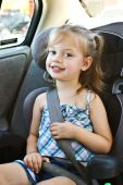 Child In A Carseat
