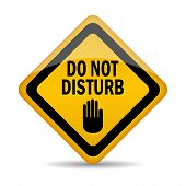 Do not disturb vector sign