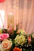 picture of heliotrope  - wedding decorations with orchids - JPG