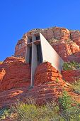 The Chapel of the Holy Cross in Sedona Arizona