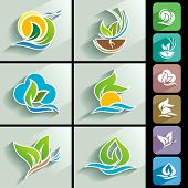 Apps Ready Nature Icons