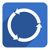 reload flat icon