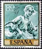 Fisherwoman Of Valencia