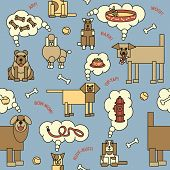 Dogs Thinking Pattern