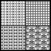 Collection Of Damask Patterns